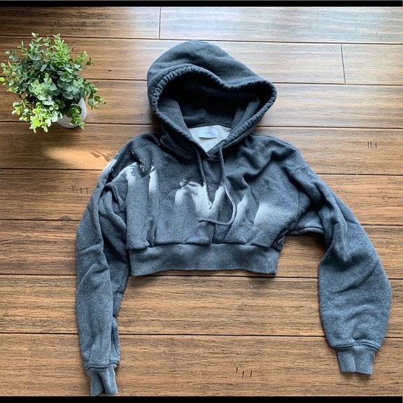 TNA the super crop hoodie